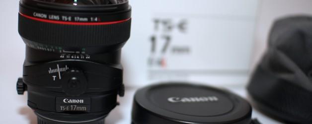 NEU: Canon Tilt-Shift TS-E 17mm f/4L