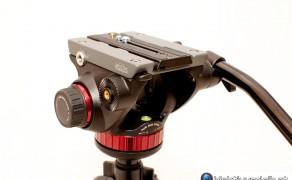 Manfrotto MVH502AH Fluid Videoneiger