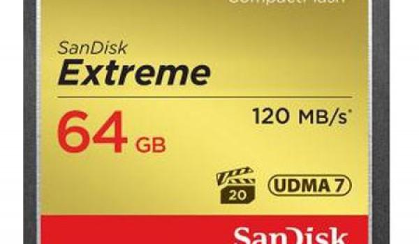 SanDisk Extreme CF 64GB 120MB/s